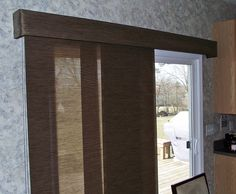 Sliding Panel Track Systems Are A Hot Trend Right Now.perfect For The  Person That Has A Large Sliding Door But Does Not Want A Vertical Blind.