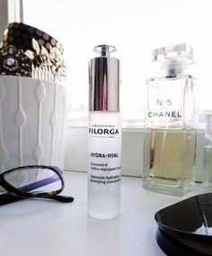 Revue de l'Hydra-Hyal concentré hydra-repulpant intense de Filorga sur le blog - Product styling