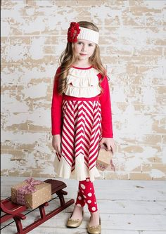 The Holidays are right around the corner and we have the perfect dress for your little one by Lemon Loves Lime. Shop online - www.lollipopsclothing.com