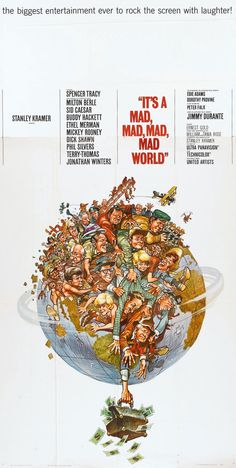 It's a Mad, Mad, Mad, Mad World (1963) Spencer Tracy, Milton Berle, Ethel Merman, Mickey Rooney and many other stars