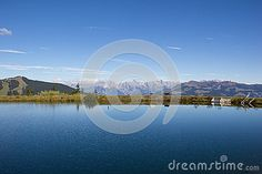 #Water #Reservoir On #Schmittenhöhe In #ZellAmSee With #View To #SteinernesMeer & #Hochkönig @dreamstime #dreamstime #nature #landscape #season #summer #hiking #mountains #austria #salzburg #panorama #wonderful #colorful #beautiful #travel #vacation #outdoor #holidays #sightseeing #leisure #stock #photo #portfolio #download #hires #royaltyfree