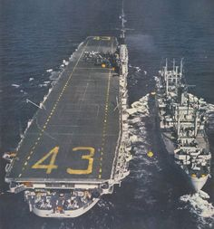 Midway class USS Coral Sea (CVA-43) Individual photos from the July 1952 Fortune magazine article