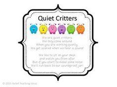 Quiet Critters Label More