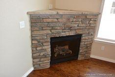 Corner Gas Fireplace Design Ideas On