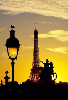 Morning Has Broken over The City Of Paris...LadyLuxury