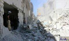 Dozens dead as warplanes pound rebel-held north…