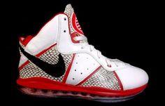 "Nike LeBron 8 ""Storm Shadow"" Custom"