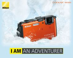 Nikon COOLPIX AW100. My new waterproof/ shockproof camera