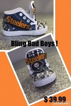 8a6b1db46 Steelers Steelers Inspired Hi tops Steelers Custom Sneakers Steelers Custom  shoes  Steelers. Converse Chuck ...