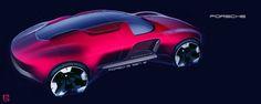 """rhubarbes: """"Some Porsche on Behance by Artur Schein """""""