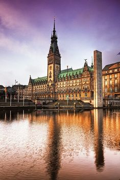 Hamburg, Venice of the north. Such a beautiful city
