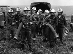 Fire Fighters ... Way back when ... <3