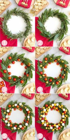 Holiday parties 56787645290127474 - Christmas Wreath Cheese Platter Appetizer – an easy to assemble cheese board recipe that is very festive and perfect for holiday parties! Source by birdsparty Christmas Cheese, Christmas Party Food, Xmas Food, Christmas Appetizers, Christmas Cooking, Appetizers For Party, Christmas Desserts, Christmas Treats, Holiday Parties