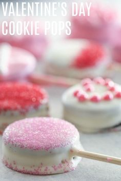 Valentine Cookie Pops make a fun tradition to pass onto the kids, and they seriously take minutes to make!