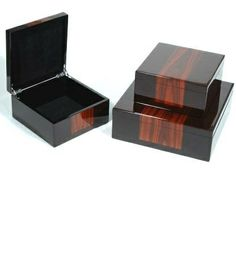 InStyle-Decor.com Luxury Black & Rosewood Boxes From $195 Highest Quality Wooden Gift Boxes Multiple Uses, Jewelry Box, Dressing Table Box, Trinket Box, Fashion Box, Desk Organizer, Stationery Box, Birthday Cards Box, Playing Cards Box, Pencil Box, Business Card Holder, Wine Gift Box, CD Box, Desk Sets, Beautiful Desk Accessories. Check Out Our On Line Store for Over 3,500 Luxury Designer Furniture, Lighting, Decor & Gift Inspirations, Enjoy