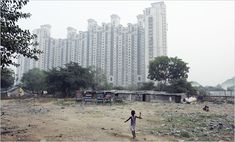 Inside Gate, India's Good Life; Outside, the Servants' Slums - The New York Times