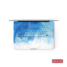 Blue Gouache - MacBook Keyboard Skin