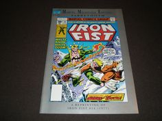 Marvel Milestone Edition 14, Iron Fist, 1st  App Sabre Tooth, 1992, Marvel Comics by HeroesRealm on Etsy