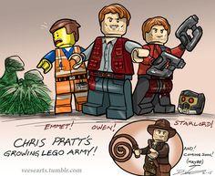 Chris Pratt Lego Army Sketch by DanVeesenmeyer on DeviantArt
