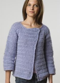 Cardigan - it has so much changing possibilitys - longer in length, short arms, different colours, ...... love