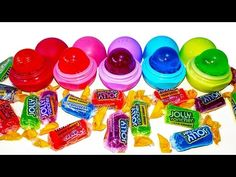 DIY: EOS you CAN EAT!!! JOLLY RANCHER CANDY TREATS! ADULT REQUIRED for new method, no dirty dishes! - YouTube