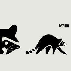 Raccoon Illustration / Arapaho Skateboards by surplus design