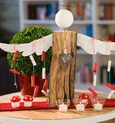 Holzpfosten dekorativ verziert pinterest holzpfosten bastelb cher und verzieren - Holzpfosten dekorativ verziert ...