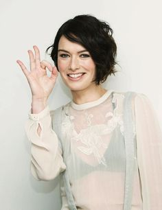 Lena Headey at the 300: Rise of an Empire press conference at the Four Seasons Hotel (04.03.14)