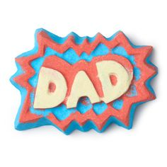 Superdad Bath Bomb: Superdad's sandalwood and olibanum oils release a woody, earthy scent the moment you drop it in the water.