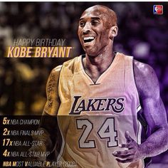 Happy birthday kobe