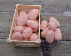Felt Potato Farmers Market Pretend Food Textile Felt by Florfanka