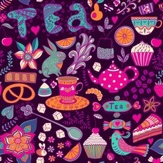 Summer Is Coming by Pridumala  #pattern #illustration #vector #design