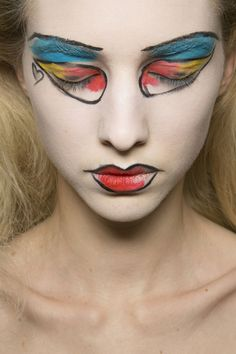 VIVIENNE WESTWOOD AW13 MAKE UP BY VAL GARLAND