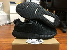 59e9d9526e7f9 eBay  Sponsored Adidas yeezy boost 350 Pirate Black 2016 size 9.5 BB5350 DS  100% authentic