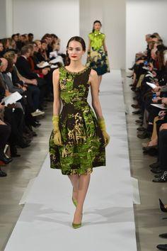 NY Fashion Week: Oscar De La Renta F/W 2013