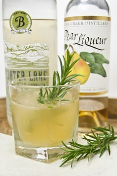 Rosemary and Pear Cocktail Recipe