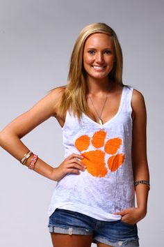 Clemson Girl: Get ready for football season with Stadium Chic – Win a free Clemson shirt!
