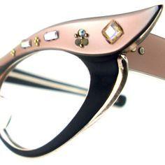7bd77f0f946 Vintage Cat Eye Glasses Eyeglasses by VintageEyeglassesCat