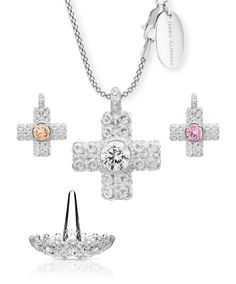 Rosalie Cross Pendant - Offer. The perfect gift for her. www.jennaclifford.com