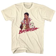Mens Baywatch Righteous Tee Shirt
