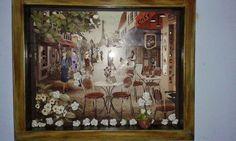 Projeto Artista Universal : Rita Caruzzo - Quadro Arte Francesa - $250,00