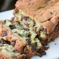Chocolate Chip Banana Zucchini Bread, the best recipe EVER