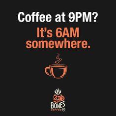 Right?!? #coffee #irishcream bonescoffee.com