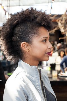 98 Best Mohawk Faux Hawk Fro Hawk Images Natural Hair Natural