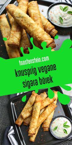 Knusprig vegane Sigara-Börek // www.toastenstein.com // vegan food blog