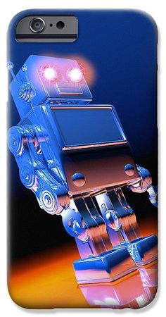 Toy Robot #iPhone 6s #phonecase ©Victor Habbick Visions/Science Source