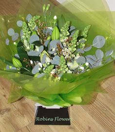 Aqua Packed Gift Bouquet