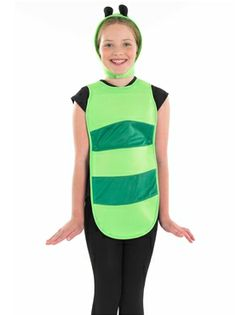 Simple  Child Caterpillar Costume