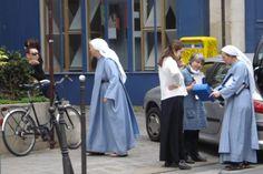 Cute nuns
