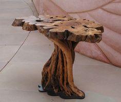 mesa toco de árvore por Oli-Pop